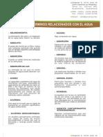 PROMISA - Glosario de términos relacionados con el agua