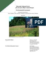 Hiawatha National Forest Invasive Plants 2007 Report.pdf