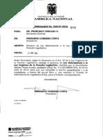 Ley Reformatoria a Al Lfl2 Proyecto Ramiro Teran