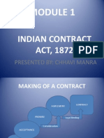 Modul 1 Indian Contract Act,1872