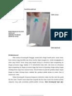 laporan praktikum kromatografi