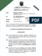 Ley Reformatoria a La Ley de Mineria Admision Cal