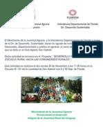 Invitacion Para El Cierre Del Curso de Informatica San Gabriel
