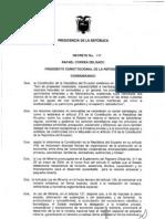 Reglamento Del Regimen Especial de La Pequena Mineria y Mineria Artesanal