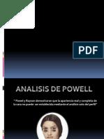 Analisis de Powell