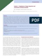 Kidney Transplantation Prophylaxis of Rejection