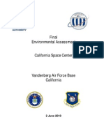 California Space Center Environmental Impact Study