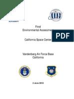 California Space Center Environmental Impact Study