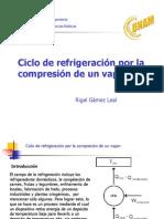 Ciclo de Refrigeracion Por Compresion de Vapor