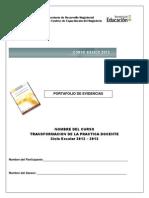 Portafolio de Evidenciascbfc2012