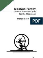 Asante MacCon Installation Guide