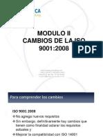 Cambios ISO 90012008 y Definiciones