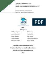 Laporan Praktikum Isolasi, PCR, Dan Fraksionasi DNA