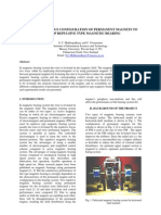 STUDIES OF VARIOUS CONFIGURATION OF PERMANENT MAGNETS TO DEVELOP REPULSIVE TYPE MAGNETIC BEARING