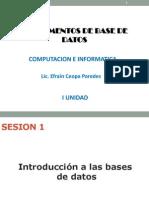 Fundamentos Bd - Sesion 1