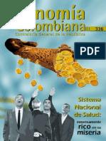 Econonia Colombiana No 336 - Publicacion de La Contraloria General de La Republica
