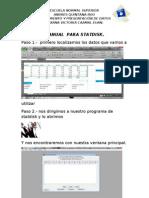 Manual Para Statdisk
