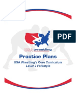 Folkstyle Wrestling Level 1 Practice Plans