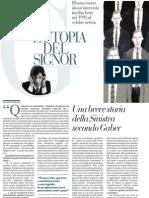 Intervista a Giorgio Gaber - La Repubblica 23.11.2012