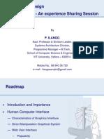 User Interface Design Phase i