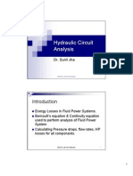Hydraulic System Analysis