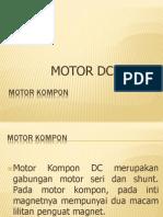 motor kompon dc
