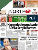 Periodico Norte de Ciudad Juárez 23 de Noviembre de 2012