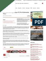 Menristek Dukung Bangun PLTN di Kalimantan Timur