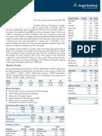 Market Outlook 23-11-12