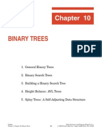 Kruse Chapter 10 Binary Trees