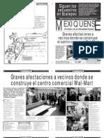 Versión impresa del periódico El mexiquense 23 de noviembre 2012