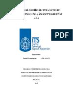Tahapan Klasifikasi Citra Menggunakan Software Envi