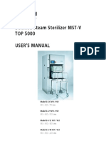 Belimed MST-V Top 5000 - User Manual