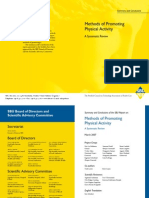 Methods of Promoting PA Systematic Review SUE 07