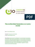 Plan de Movilidad Sostenible en El Centro Escolar
