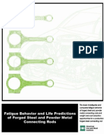 Thesis_Fatigue Behavior and Life Pridictions of Con Rod