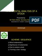 Fundamenals of Stock