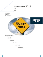 Event Health and Safety, Advisors Report