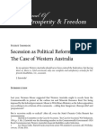 Secession as Political Reform