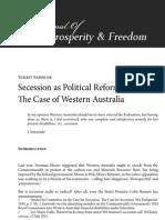 Secession as Political Reform