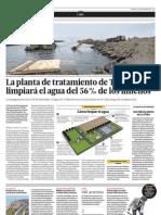 La planta de tratamiento de agua de Taboada limpiará el agua del 56 por ciento de los limeños