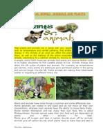 Animals and Plants (1)