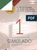 657 1 Simulado Oab 2fase Viii Exame Dir Administrativo