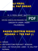 Mengenali Hasil Abnormal Pap Dan Iva (Teori) Dr.rizal s