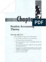 Positive Accounting Theory