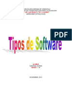 Tipos de Software Alfredoo