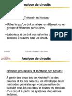 Analyse Des Circuits