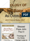 Theology of the Body in Cardiff - Introduction and Overview