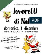 2012.12.02 - Lavoretti Natale