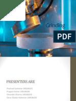 Presentation on Grinding
